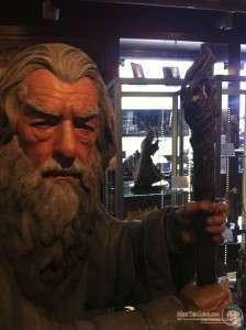 Gandalf the Grey statue at Weta Cave. Wellington, NZ.