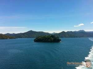 Marlborough Sounds from the Interislander Ferry