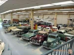 A fraction of the cars on Display at Southward Car Museum