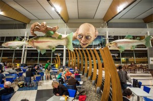 Wellington Airport Gollum